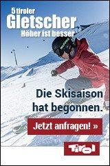 Skiurlaub auf den 5 Tiroler Gletschern
