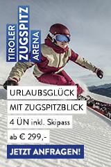 Skiurlaub auf der Tiroler Zugspitze